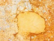 Pintura de la peladura en la pared Foto de archivo libre de regalías