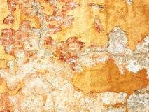 Pintura de la peladura en la pared Foto de archivo