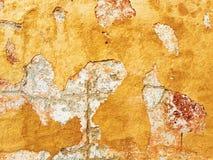 Pintura de la peladura en la pared Imagen de archivo libre de regalías