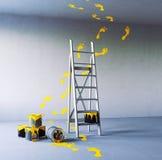 Pintura de la renovación ilustración del vector