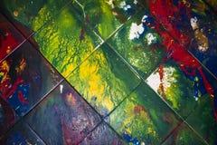 Pintura de la salpicadura foto de archivo libre de regalías