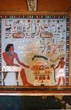 Pintura de la tumba de Sarenput II Fotos de archivo libres de regalías