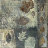 Pintura de las hojas Imágenes de archivo libres de regalías