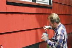 Pintura de las mejoras para el hogar Imagenes de archivo