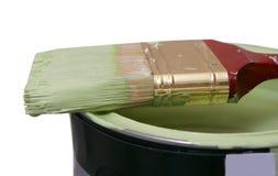 Pintura de las mejoras para el hogar Foto de archivo libre de regalías