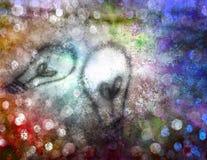 Pintura de los bulbos de la idea Fotos de archivo