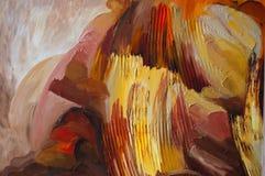 Pintura de los colores de petróleo Foto de archivo