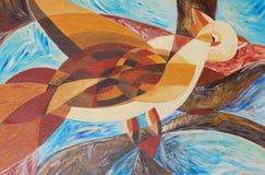 Pintura de los colores de petróleo Imagen de archivo