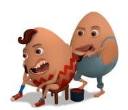 Pintura de los huevos Fotografía de archivo libre de regalías