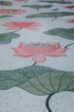 Pintura de Lotus Imagem de Stock Royalty Free