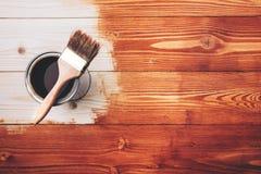 Pintura de madera Imagen de archivo libre de regalías