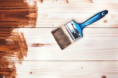 Pintura de madera Fotografía de archivo libre de regalías