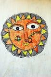 Pintura de Madhubani Imagem de Stock Royalty Free