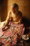 Pintura de Madhubani en la Bihar-India Imagen de archivo libre de regalías