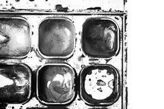 Pintura de 4 paintbox Imagenes de archivo