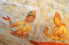 Pintura de pared Foto de archivo libre de regalías