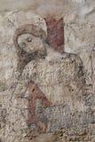 Pintura de pared gótica Fotografía de archivo libre de regalías