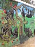 Pintura de parede fotografia de stock royalty free