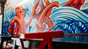 Pintura de parede Imagem de Stock