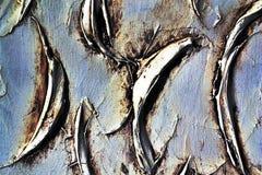 Pintura de parede abstrata da textura do emplastro Fotografia de Stock