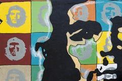 Pintura de parede de Che Guevara Imagem de Stock Royalty Free