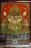 Pintura de parede do senhor Ganesha Fotografia de Stock Royalty Free