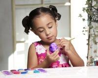 Pintura de Pascua imágenes de archivo libres de regalías