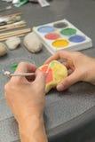 Pintura de pedra Fotografia de Stock