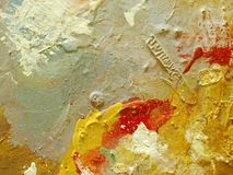 Pintura de petróleo imagenes de archivo