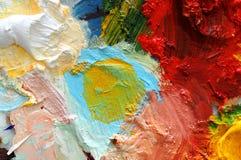 Pintura de petróleo Foto de Stock