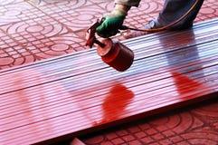 Pintura de pulverizador Foto de Stock