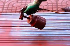 Pintura de pulverizador Foto de Stock Royalty Free