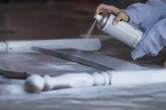Pintura de pulverizador Imagem de Stock Royalty Free