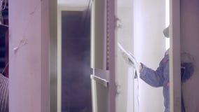 Pintura de pulverizador industrial filme
