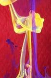 Pintura de roda no líquido Fotografia de Stock