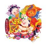 Pintura decorativa Foto de archivo libre de regalías