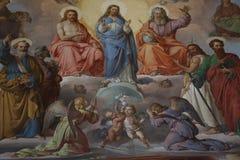 Pintura decorativa fotografía de archivo libre de regalías