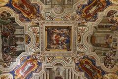 Pintura decorativa em Roma fotografia de stock