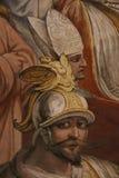 Pintura decorativa en Roma fotografía de archivo