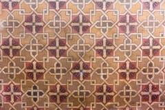 Pintura del adorno geométrico artístico Foto de archivo