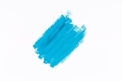 Pintura del azul del movimiento Fotos de archivo