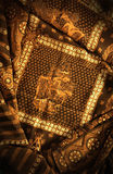 Pintura del batik del Javanese Fotos de archivo libres de regalías