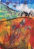 Pintura del campo de Holanda