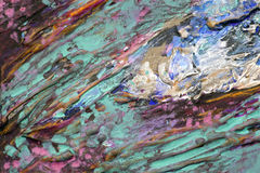 Pintura del caos Foto de archivo