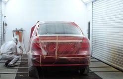 Pintura del coche. Fotos de archivo libres de regalías