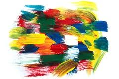 Pintura del color Imagenes de archivo