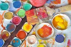 Pintura del color Fotografía de archivo