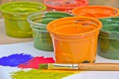 Pintura del color Imagen de archivo