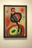 Pintura del ³ de Joan Mirà Fotografía de archivo libre de regalías