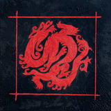 Pintura del dragón Fotos de archivo